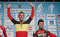 Philippe Gilbert (BEL/BMC) is the 2016 Belgian National Road Cycling Champion<br /> <br /> Les Lacs de l'Eau d'Heure