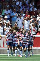 Sandy - Utah, Saturday, June 30, 2012: USWNT 2-1 over Canada in an international friendly.