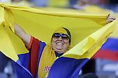 Hincha en el partido de cuartos de final entre Colombia y Perú en la Copa América Centenario USA 2016 en el MetLife Stadium en East Rutherford, California, el 17 de junio de 2016.<br /> Foto: Archivolatino<br /> <br /> COPYRIGHT: Archivolatino/Alejandro Sanchez<br /> Prohibida su venta y su uso comercial.