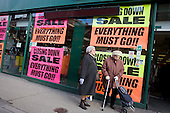 Closing down sale on Kilburn High Road.