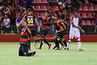 Recife,PE,06.02.2020 - SPORT - IMPERATRIZ/MA - Partida entre Sport e Imperatriz/MA válida pela 3° rodada da Copa do Nordeste, nesta quinta-feira (06) na Ilha do Retiro, Recife (PE).(Rafael Vieira/Código19).