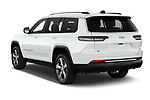 Car pictures of rear three quarter view of 2021 JEEP Grand-Cherokee-L Limited 5 Door SUV Angular Rear