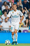 Lucas Vazquez of Real Madrid in action during the La Liga 2017-18 match between Real Madrid and Real Betis at Estadio Santiago Bernabeu on 20 September 2017 in Madrid, Spain. Photo by Diego Gonzalez / Power Sport Images