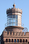 One of the Twin Lights at the historic location in the NJ Highlands near Sandy Hook.