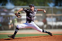 Nick Gottilla during the WWBA World Championship at the Roger Dean Complex on October 19, 2018 in Jupiter, Florida.  Nick Gottilla is a left handed pitcher from Davenport, Iowa who attends Assumption High School.  (Mike Janes/Four Seam Images)