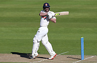 Ryan ten Doeschate of Essex hits out during Warwickshire CCC vs Essex CCC, LV Insurance County Championship Group 1 Cricket at Edgbaston Stadium on 22nd April 2021