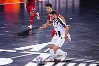 9th October 2020; Palau Blaugrana, Barcelona, Catalonia, Spain; UEFA Futsal Champions League Finals; Mrucia FS versus MFK Tyumen;   Gereykhanov