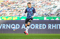 31st October 2020; Liberty Stadium, Swansea, Glamorgan, Wales; English Football League Championship Football, Swansea City versus Blackburn Rovers; Jake Bidwell of Swansea City during the warm up