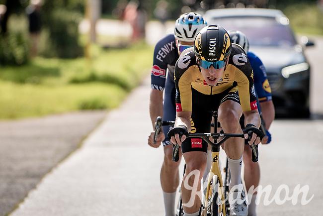 Pascal Eenkhoorn (NED/Jumbo-Visma)<br /> <br /> Heylen Vastgoed Heistse Pijl 2021 (BEL)<br /> One day race from Vosselaar to Heist-op-den-Berg (BEL/193km)<br /> <br /> ©kramon