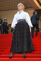 Emanuelle Beart sur le tapis rouge pour la soirée dans le cadre de la journée anniversaire de la 70e édition du Festival du Film à Cannes, Palais des Festivals et des Congres, Cannes, Sud de la France, mardi 23 mai 2017.