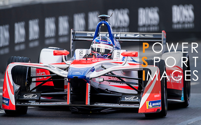 Nick Heidfeld of Germany from Mahindra Racing competes during the FIA Formula E Hong Kong E-Prix Round 2 at the Central Harbourfront Circuit on 03 December 2017 in Hong Kong, Hong Kong. Photo by Marcio Rodrigo Machado / Power Sport Images