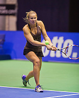 December 17, 2014, Rotterdam, Topsport Centrum, Lotto NK Tennis, Jainy Scheepens (NED)<br /> Photo: Tennisimages/Henk Koster