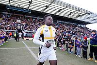 Photo: Richard Lane/Richard Lane Photography. Exeter Chiefs v Wasps. Aviva Premiership. 01/05/2016.  Wasps' Christian Wade.