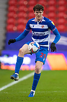 6th February 2021; Bet365 Stadium, Stoke, Staffordshire, England; English Football League Championship Football, Stoke City versus Reading; Tom Holmes of Reading controls a loose ball