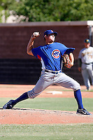 Josh Lansford - Chicago Cubs 2009 Instructional League.Photo by:  Bill Mitchell/Four Seam Images..