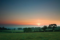 Sunrise above Neilston, East Renfrewshire