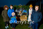 Conor and Aoibheann O'Dwyer, Kieran Divane, Sinead Creen and Michael O'Dwyer at the lightening of the Crib in Spa on Saturday.