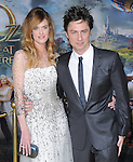 """Zach Braff and Taylor Bagley at The World Premiere of Disney's fantastical adventure ?Oz The Great and Powerful"""" held at The El Capitan Theater in Hollywood, California on February 13,2013                                                                   Copyright 2013 Hollywood Press Agency"""