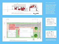 Chris Montney, NewSchool of Architecture & Design, received Honorable Mention in FSDA's ADU Competition 2004 in the Student category. Board 2.