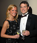"""Elizabeth Hipp and Scott Shackouls at the Children's Museum """"Road to Rio"""" Gala at The Corinthian Friday Oct. 19,2007.  (Dave Rossman/For the Chronicle)"""