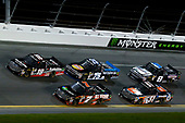 NASCAR Camping World Truck Series<br /> NextEra Energy Resources 250<br /> Daytona International Speedway, Daytona Beach, FL USA<br /> Friday 16 February 2018<br /> Korbin Forrister, All Out Motorsports, Tru Clear Global Toyota Tundra and Noah Gragson, Kyle Busch Motorsports, Safelite Autoglass Toyota Tundra<br /> World Copyright: Russell LaBounty<br /> LAT Images
