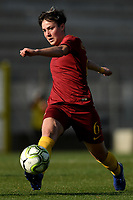 Federica Di Criscio of AS Roma in action during the Women Italy cup round of 8 second leg match between AS Roma and Roma Calcio Femminile at stadio delle tre fontane, Roma, February 20, 2019 <br /> Foto Andrea Staccioli / Insidefoto
