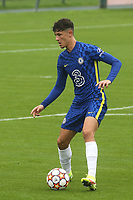 Jude Soonsup-Bell of Chelsea in action during Chelsea Under-19 vs FC Zenit Under-19, UEFA Youth League Football at Cobham Training Ground on 14th September 2021