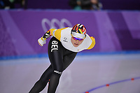 OLYMPIC GAMES: PYEONGCHANG: 16-02-2018, Gangneung Oval, Long Track, 5.000m Ladies, Jelena Peeters (BEL), ©photo Martin de Jong