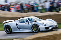 2015 Porsche 918 Spyder 'Weissach' during the Goodwood Festival of Speed 2016 at Goodwood, Chichester, England on 24 June 2016. Photo by David Horn / PRiME Media Images
