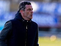 5th April 2021; Palmerston Park, Dumfries, Scotland; Scottish Cup Third Round, Queen of the South versus Hibernian; Jack Ross Hibernian Manager ahead of kick off