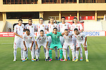 Korea Republic vs Jordan during the 2014 AFC U-22 Championship Group Stage A match on January 11, 2014 at the Royal Oman Police Stadium in Muscat, Oman. Photo by World Sport Group