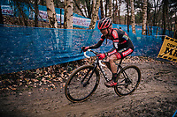 Denise Betsema (NED/Pauwels Sauzen-Bingoal)<br /> <br /> Women's race at the X2O Herentals Cross 2020 (BEL)<br /> <br /> ©kramon