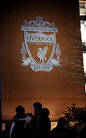 A general view of Anfield as fans arrive ahead of kick-off<br /> <br /> Photographer Rich Linley/CameraSport<br /> <br /> UEFA Champions League Round of 16 Second Leg - Liverpool v Atletico Madrid - Wednesday 11th March 2020 - Anfield - Liverpool<br />  <br /> World Copyright © 2020 CameraSport. All rights reserved. 43 Linden Ave. Countesthorpe. Leicester. England. LE8 5PG - Tel: +44 (0) 116 277 4147 - admin@camerasport.com - www.camerasport.com