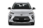 Car photography straight front view of a 2022 Chevrolet Bolt-EUV LT 5 Door suv Front View