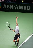 Februari 09, 2015, Netherlands, Rotterdam, Ahoy, ABN AMRO World Tennis Tournament, Grigor Dimitrov (BUL) <br /> Photo: Tennisimages/Henk Koster