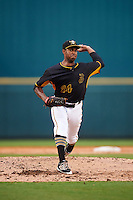 Bradenton Marauders starting pitcher Stephen Tarpley (24) during a game against the Palm Beach Cardinals on August 8, 2016 at McKechnie Field in Bradenton, Florida.  Bradenton defeated Palm Beach 5-4.  (Mike Janes/Four Seam Images)