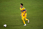 Carlos Salcedo of Tigres UANL (MEX) in action against CD Olimpia (HON) during their CONCACAF Champions League Semi Finals match at the Orlando's Exploria Stadium on 19 December 2020, in Florida, USA. Photo by Victor Fraile / Power Sport Images