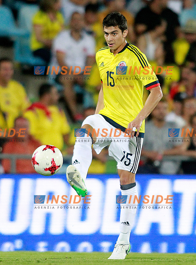 Colombia's Stefan Medina during international friendly match. June 13,2017.(ALTERPHOTOS/Acero/Insidefoto)<br /> Camerun - Colombia <br /> Foto Acero/Alterphotos/Insidefoto <br /> ITALY ONLY