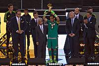 Action photo during the match Argentina vs Chile corresponding to the Final of America Cup Centenary 2016, at MetLife Stadium.<br /> <br /> Foto durante al partido Argentina vs Chile cprresponidente a la Final de la Copa America Centenario USA 2016 en el Estadio MetLife , en la foto:Claudio Bravo Portero del Torneo<br /> <br /> <br /> 26/06/2016/MEXSPORT/JAVIER RAMIREZ