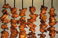 "Asie/Inde/Rajasthan/Jaipur: Restaurant ""Surabhi"" - Détail tandori de poulet"
