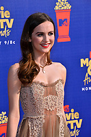 SANTA MONICA, USA. June 16, 2019: Maude Apatow at the 2019 MTV Movie & TV Awards at Barker Hangar, Santa Monica.<br /> Picture: Paul Smith/Featureflash