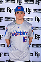 Connor Walsh (16) of Niceville High School in Niceville, Florida during the Baseball Factory All-America Pre-Season Tournament, powered by Under Armour, on January 12, 2018 at Sloan Park Complex in Mesa, Arizona.  (Mike Janes/Four Seam Images)