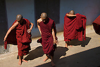 A Monastery near Bagan,Myanmar, Burma.