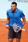 Jo-Wilfried Tsonga, France, during Madrid Open Tennis 2016 match.May, 5, 2016.(ALTERPHOTOS/Acero)