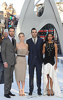 May 2nd, 2013 - London..Chris Pine, Alice Eve, Zachary Quinto and Zoe Saldana at the premiere of Star Trek Into Darkness at the Empire in London, UK on May 2, 2013..****** BYLINE MUST READ : © Spread Pictures ******..****** No Web Usage before agreement ******..****** Strictly No Mobile Phone Application or Apps use without our Prior Agreement ******..Enquiries at photo@spreadpictures.com
