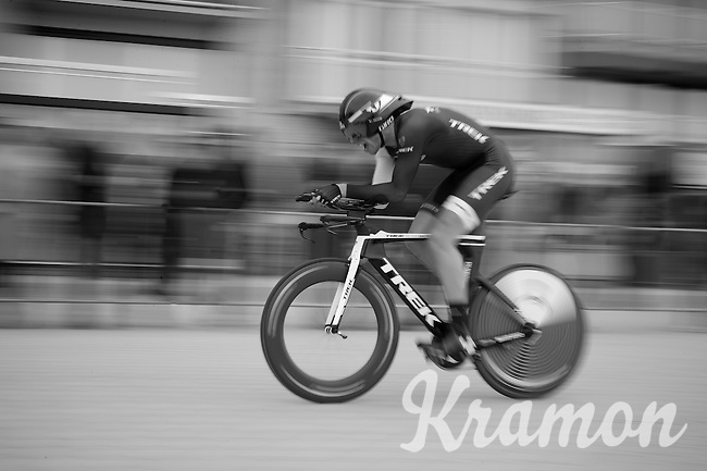 a speeding Boy van Poppel (NLD)<br /> <br /> 3 Days of West-Flanders 2014<br /> day 1: TT/prologue Middelkerke 7,0 km
