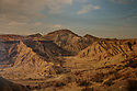 Spain - Andalusia - Overview of the Tabernas Desert, the perfect natural set for western movies.