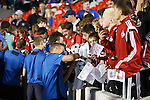 Rangers players during the meet and greet with fans at JD Place Stadium, Ottawa