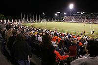 UVa soccer at Klockner stadium.