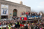 260213 Swansea City Football Club open top bus celebrations